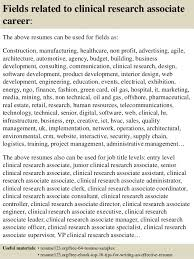 Clinical Research Associate Resume Example by Clinical Research Resume Template Examples