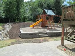 pristine pea gravel backyard ideas paver patio columbus ohio
