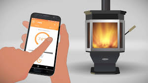 smart wood stove wood burning stove with an app mf fire