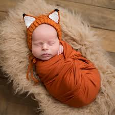 infant boy costumes adorable fox costume photo prop handmade fox ears hat plus