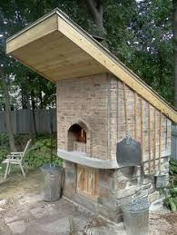Brick Oven Backyard by Free Instructions How To Build A Brick Wood Fired Pizza Oven