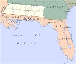 Map Of Florida West Coast by Pinckney U0027s Treaty Wikipedia