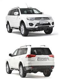 new mitsubishi pajero sport unveiled in teaser image automobile