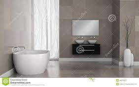 interieur salle de bain moderne intérieur de salle de bains moderne avec des murs de tuile de