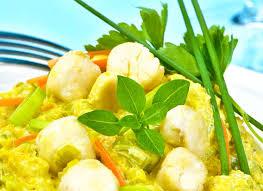 recette de cuisine 2 pétoncles aux 2 légumes recette inratable cuisine facile