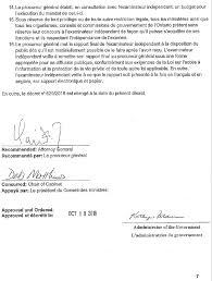 Décrets De 1950 Retour Vers Le Passé Rapport De L Examen Indépendant Des Organismes De Surveillance De La