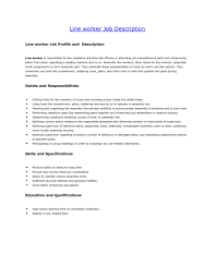 Warehouse Worker Resume Sample by Assembly Worker Resume Sample Virtren Com
