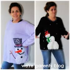 sweater store ugly christmas sweaters review we u0027re parents