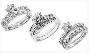 groupon wedding rings sterling silver wedding rings groupon goods
