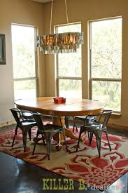 warm industrial dining room killer b designs