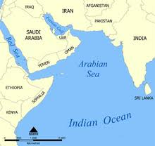 map world seas list of seas
