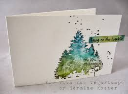 christmas cards in watercolor viva las vegasts tutorial with bold sts and lyra
