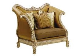 Oversized Accent Chair Bt 067 Italian Oversized Accent Arm Chair In Gold Finish Accent