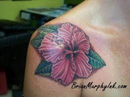 brian murphy ink orange park fl 32073 hibiscus flower tattoo by