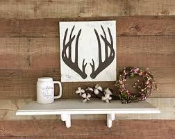 deer antler decor etsy