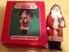 bethany lowe vintage die cut santa ornament retired new nadal