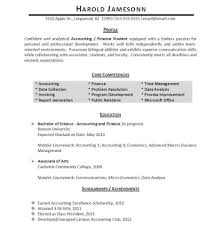 Accounts And Finance Resume Format Coursework On Resume Template Resume Builder