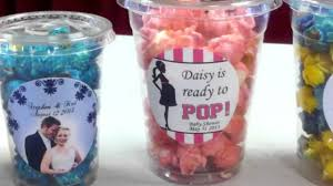 popcorn wedding favors popcorn fanatic wedding and party favors