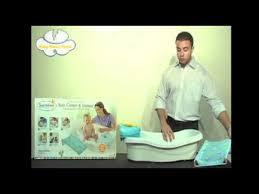 Summer Infant To Toddler Bathtub Summer Infant Bath Center U0026 Shower Youtube