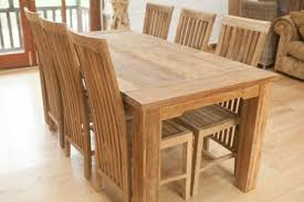 Teak Dining Room Table And Chairs And Teak Dining Table And Chairs - Reclaimed teak dining table and chairs