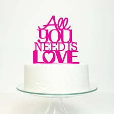 all you need is cake topper wedding cake topper all you need is miss cake