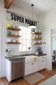 idee deco campagne meuble cuisine campagne meubles de cuisine indépendant et ilot