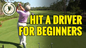 how to hit a golf ball with driver for beginners youtube