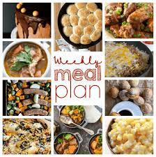 weekly meal plan week 65 diethood