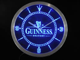 buy nc0477 whiskey neon sign led wall clock a048 b design