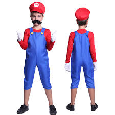 mario costume new kids mario costume boys clothes fancy dress party