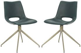 mid century modern swivel chair ach7001b set2 dining chairs furniture by safavieh