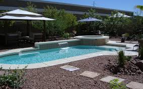 Landscaping Around A Pool by Desert Landscaping Around Pool Design And Ideas