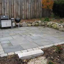 backyard stone patio designs 17 best ideas about stone patio