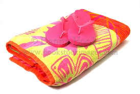 flip flop towel towel and flip flops