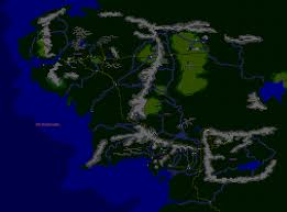 Earth Maps New Middle Earth Map Please Send Comments