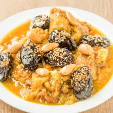 cuisine marocaine tajine tajine de veau pruneaux amandes la table d asmâa traiteur