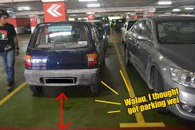really small cars parking sins every malaysian really needs to stop doing world of