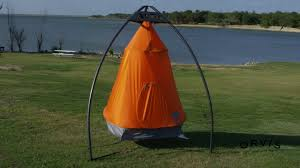Hanging Tent by Treepod Portable Hanging Tree House Youtube