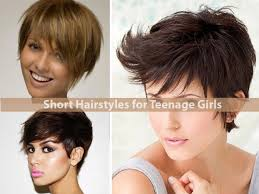 hairstyles classic short hairstyles for teenage girls image 05