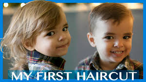 abrams first real haircut youtube