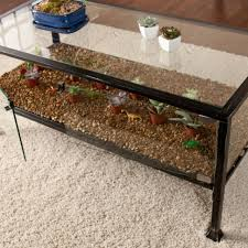 coffee tables glass terrarium coffee table reptile coffee table