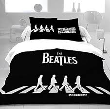 The Beatles Bed Set Duvet Cover Bedding Set 100 Cotton The Beatles Road 200