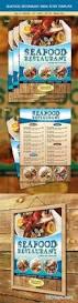 seafood restaurant menu flyer 6415993 free download photoshop