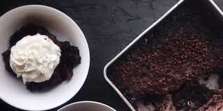 chocolate cherry whiskey dump cake recipe delish com