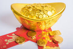 new year gold coins new year gold coins stock photo image 65802833