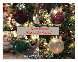 5 minute tree ornaments money savvy living