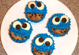 cookie monster cupcakes duncan hines