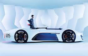 renault alpine concept wordlesstech renault alpine vision gran turismo concept