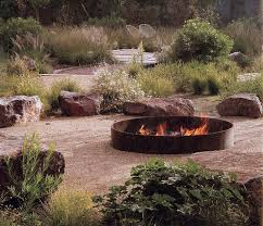 Rustic Firepit Fresh Modern And Rustic Pit Design Ideas Homesthetics 5