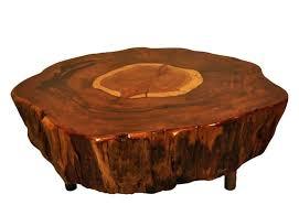 wood stump coffee table side tables resin tree stump side table image of tree stump coffee